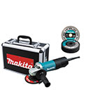 Makita 4-1/2-Inch Angle Grinder with Aluminum Case