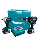 Makita 18V LXT Lithium-Ion Cordless 2-Pc. Combo Kit