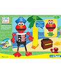 Kid K'Nex - Elmo's Treasure Hunt Adventure Building Set