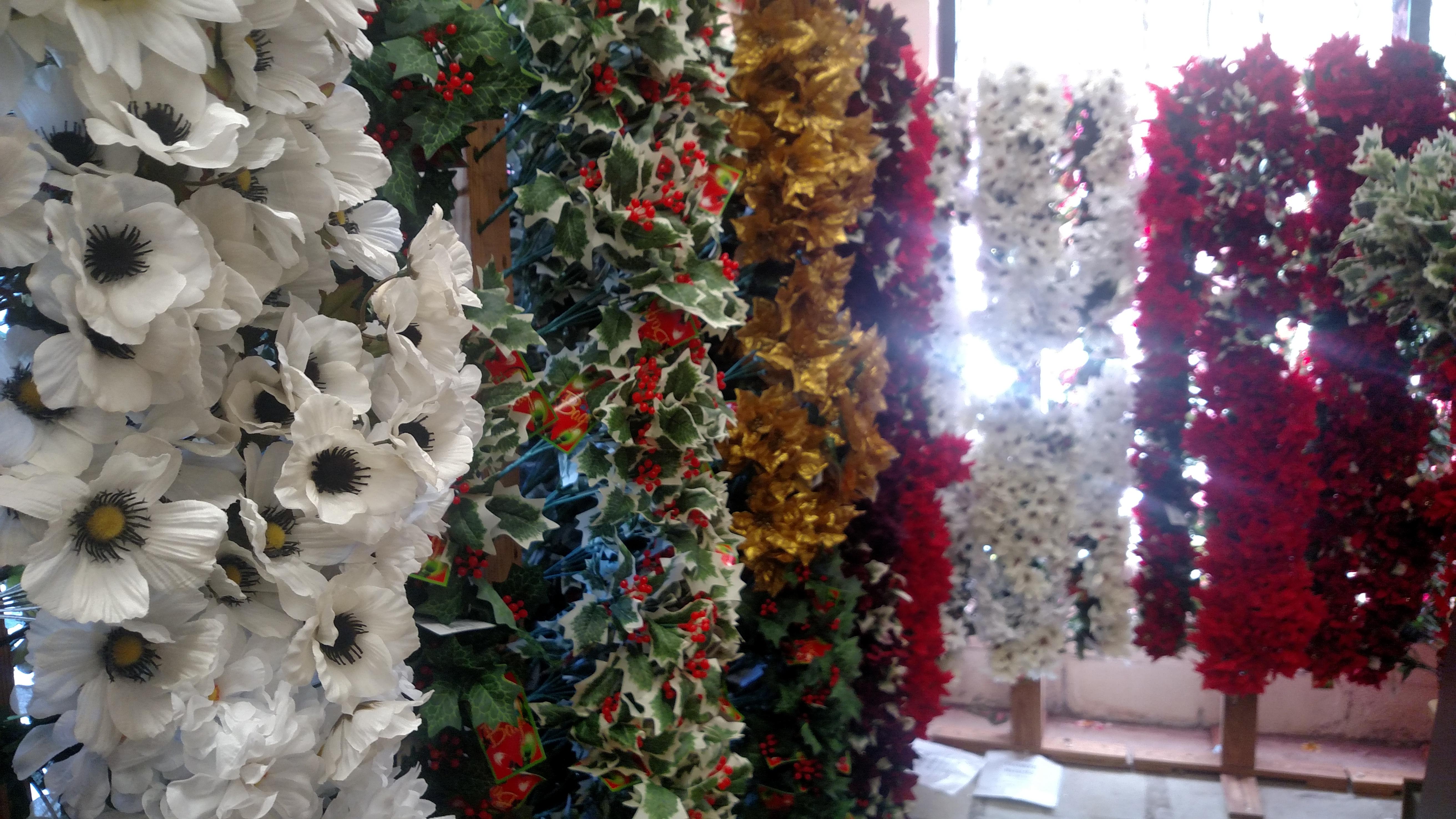 Christmas silk flowers surplus unlimited store christmas flowers mightylinksfo